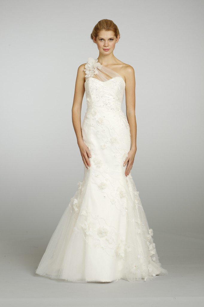 shoulder wedding dresses