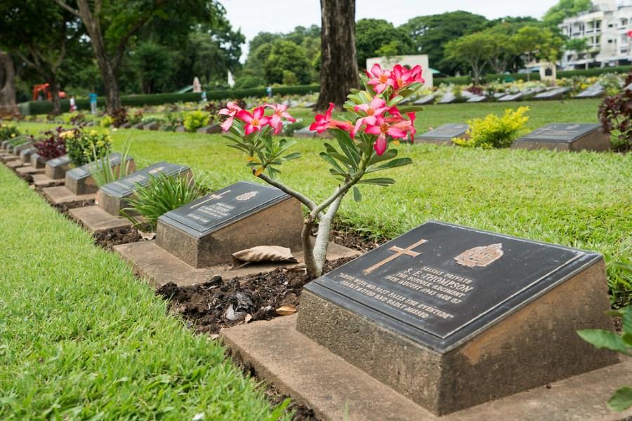 cementerio de Kanchanaburi