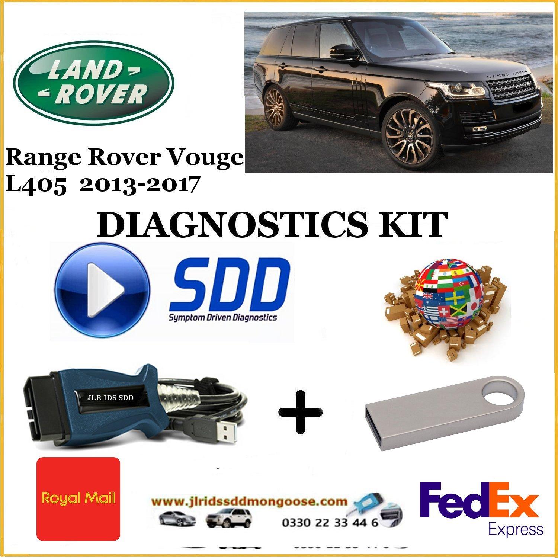 Vogue L405 2013 - 2017 Land Rover Symptom Driven Diagnostics SDD JLR Diy Kit