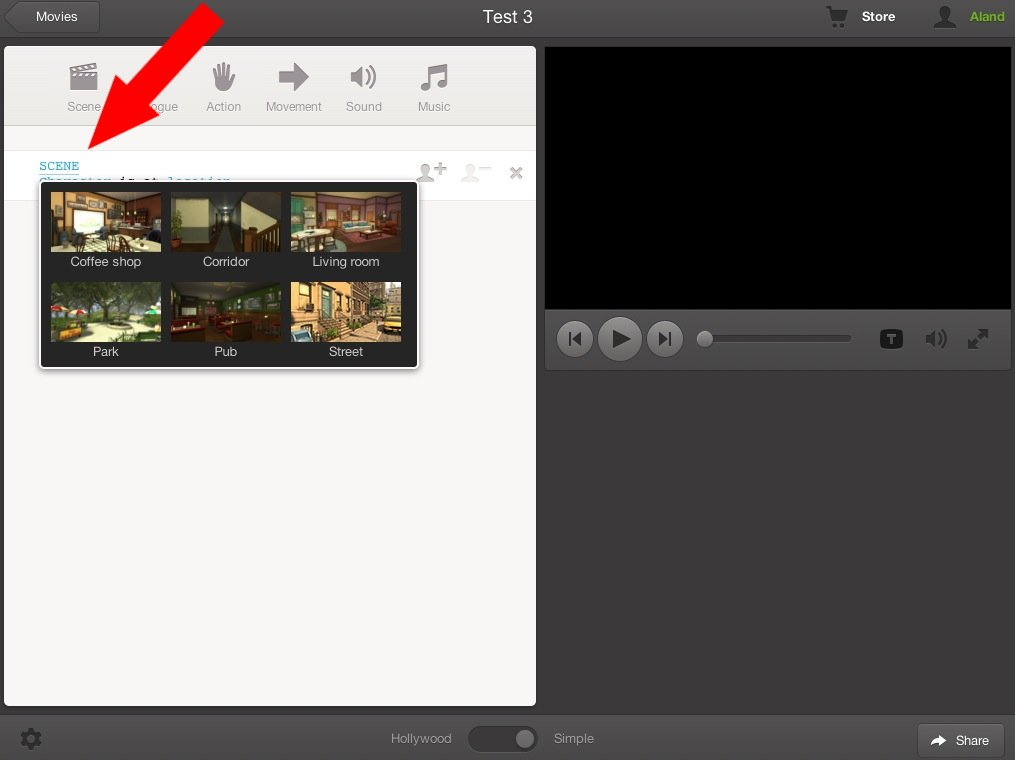 ICT in school, part 10: Plotagon (create animated movies in