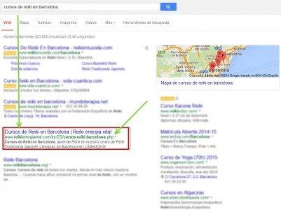 CRO Google Busqueda