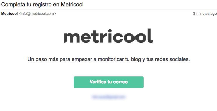 crear cuenta metricool paso 5