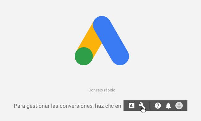 interfaz google adwords