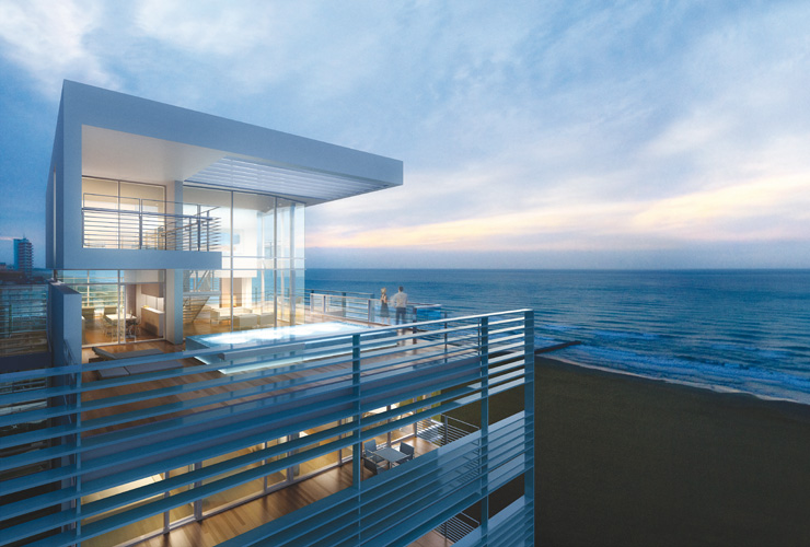 The Beach Houses Five Penthouses Offer The Opportunity