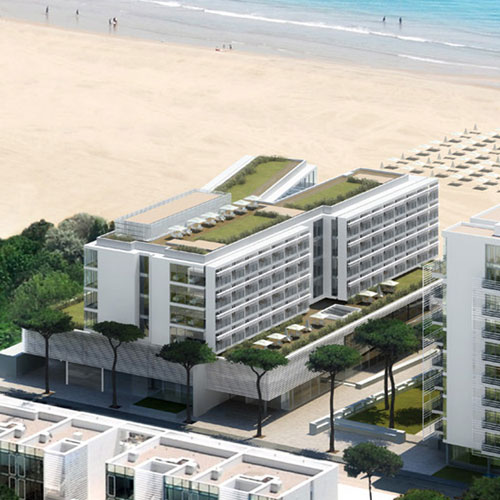 JLV a fivestar Hotel  SPA by Richard Meier  Jesolo