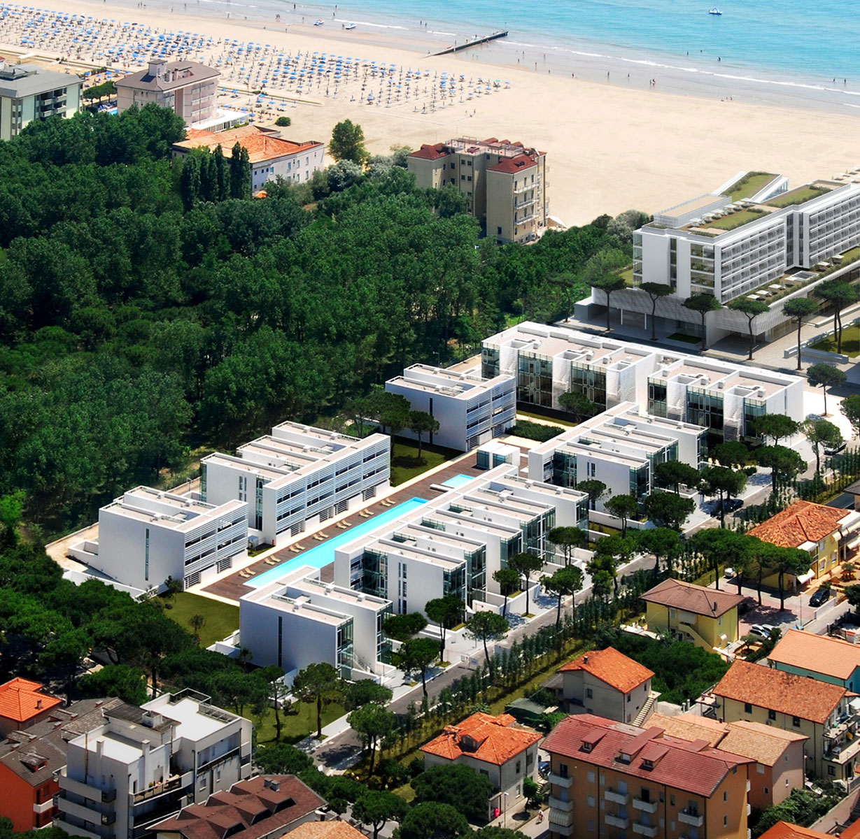 Jesolo Immobiliare by Richard Meier present The Pool