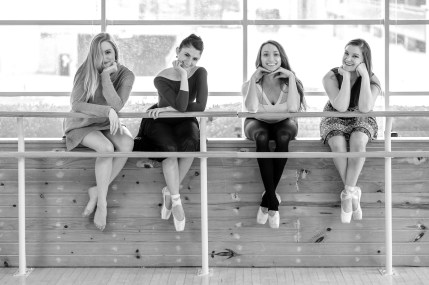 Rachel Smith, Nora Carr, Anna Swenson, Becca Brenner