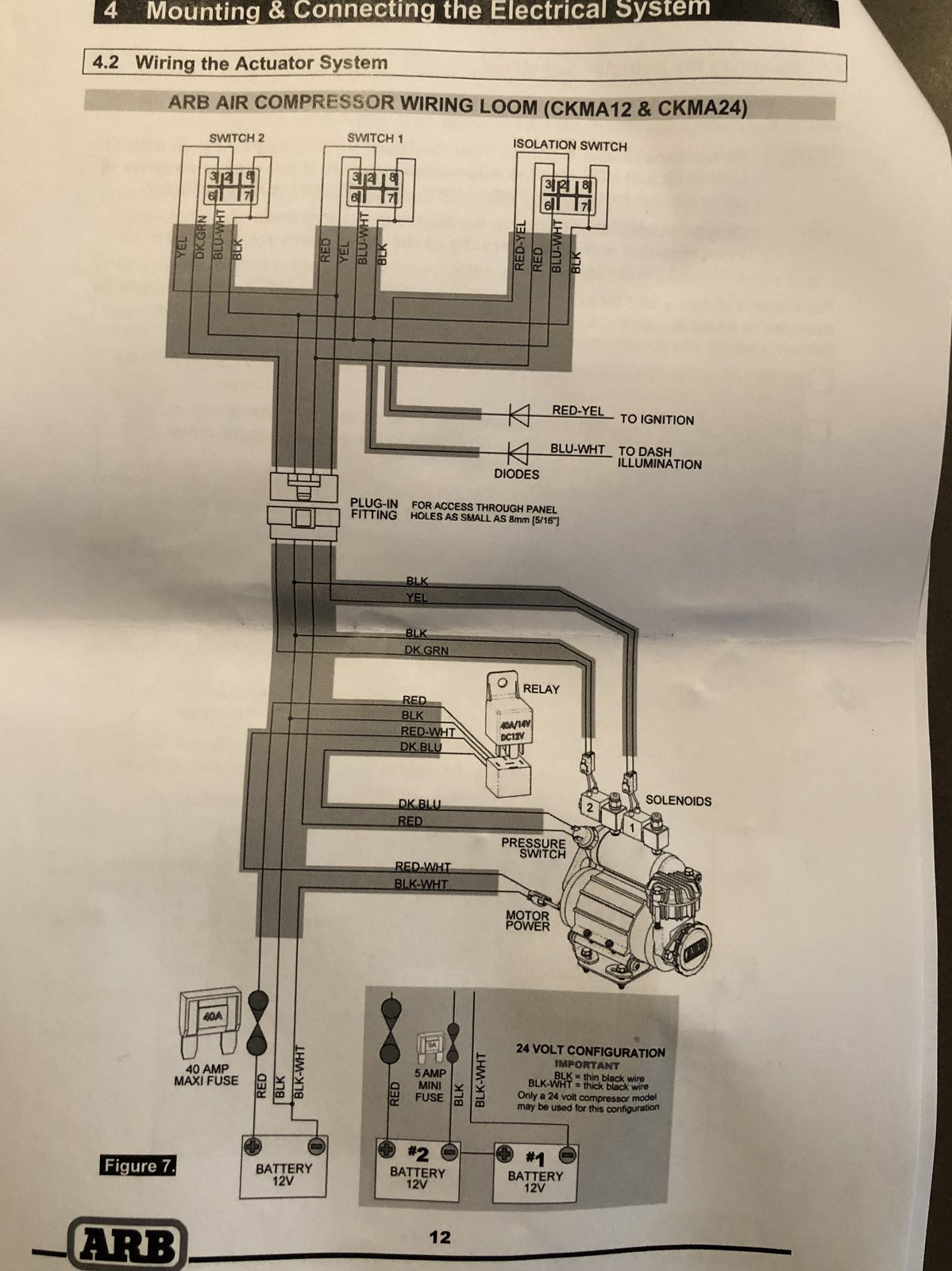 hight resolution of  wiring schematic on arb compressor with more mount write up page 2 2018 jeep