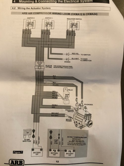 small resolution of  wiring schematic on arb compressor with more mount write up page 2 2018 jeep