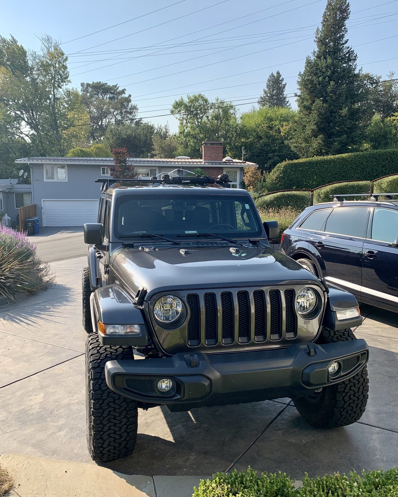 roof rack for surfboard 2018 jeep