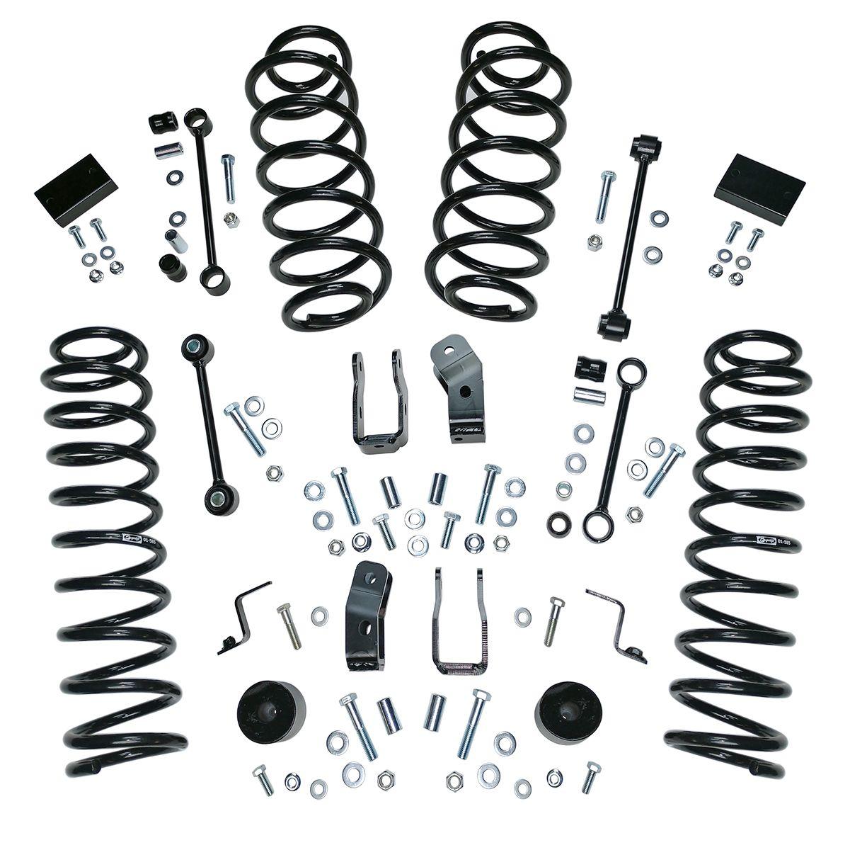 Aftermarket JL Lift Kit suspension options master list