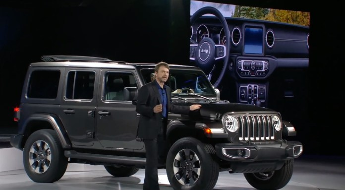 plug-in hybrid electric wrangler coming in 2020 announces jeep ceo