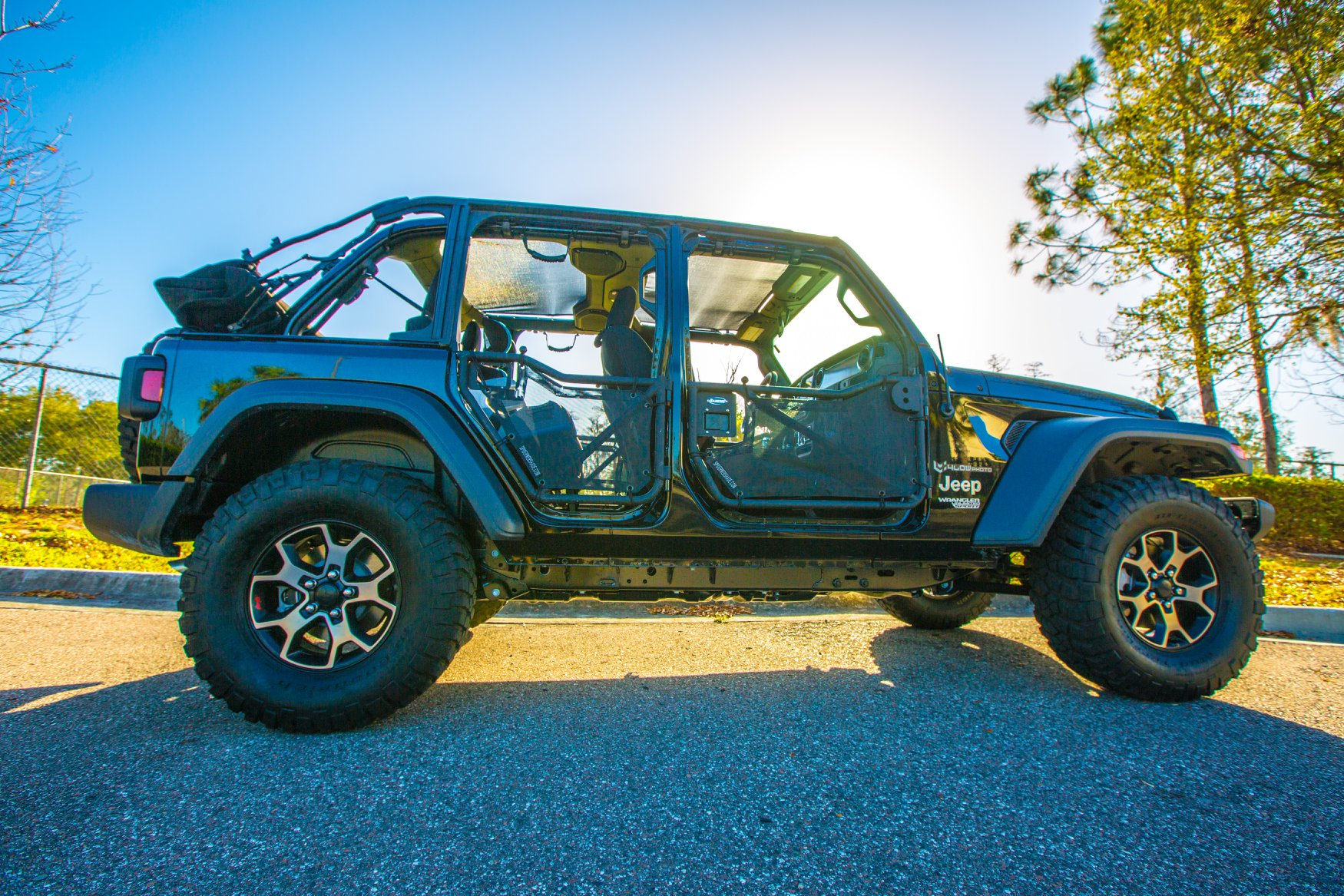 hight resolution of featured build jl wrangler looks great with tube doors