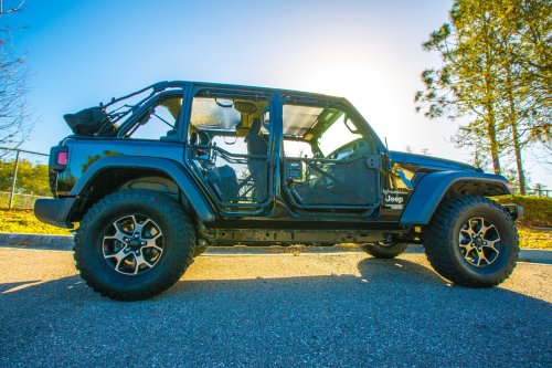 small resolution of featured build jl wrangler looks great with tube doors