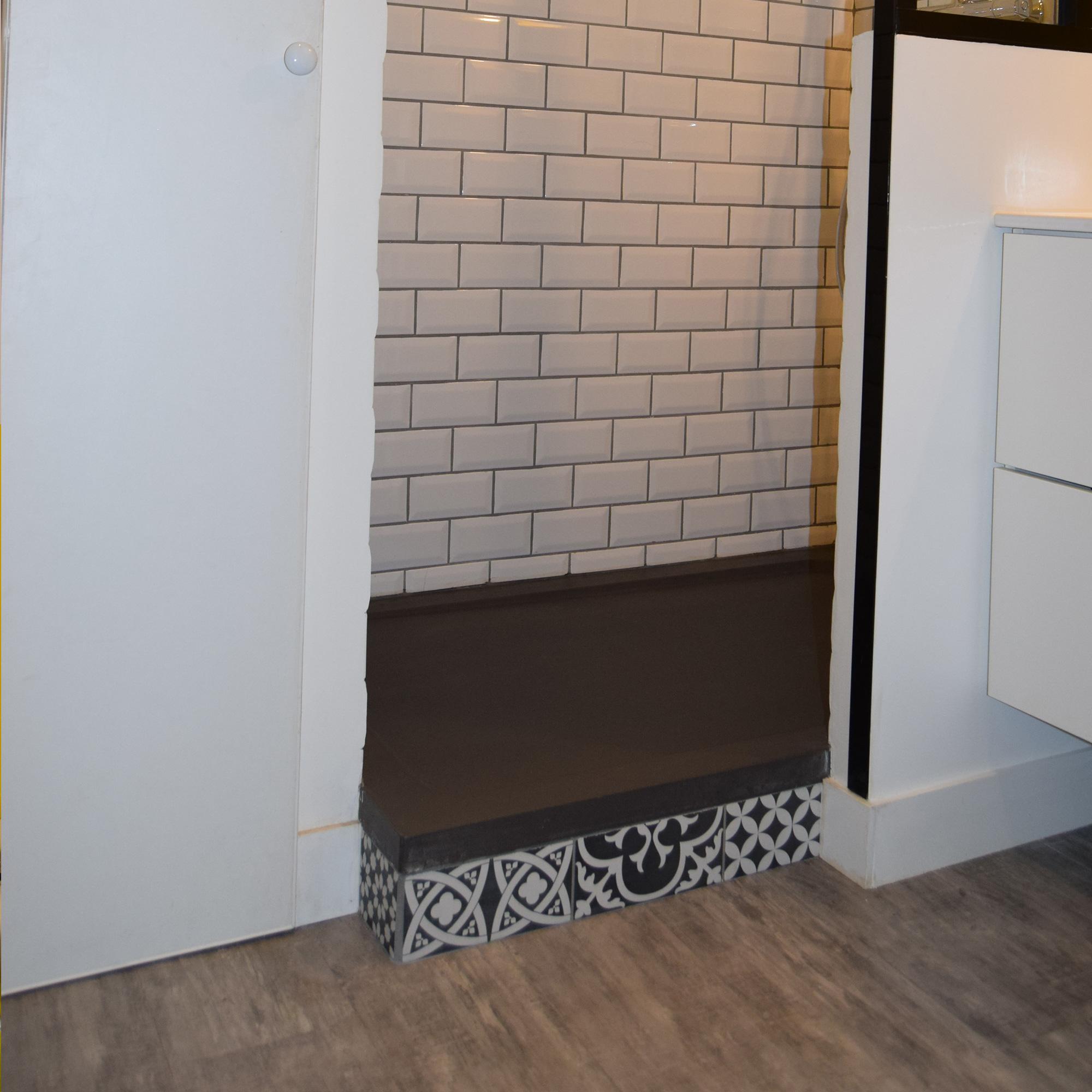 carreaux de ciment salle de bain