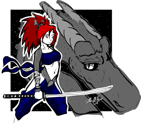 Kunoichi dragon
