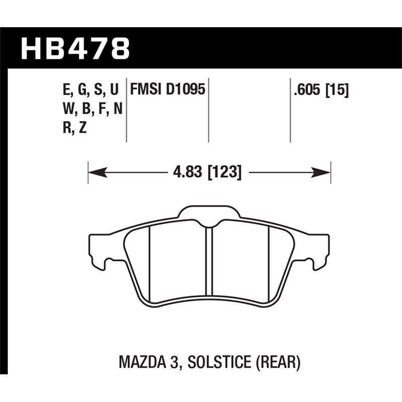 CALL US (855) 998-8726 Hawk Performance HT-10 Brake Pads