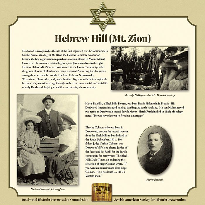 Image result for jewish pioneers black hills