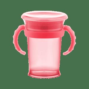 Copo Lillo Treinamento Alça Rosa