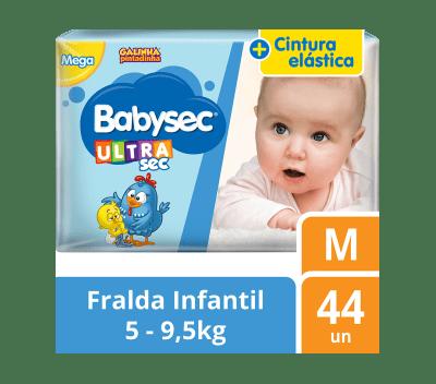 Fralda Babysec Galinha Pintadinha Mega - Tamanho M