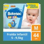 Fralda Babysec Galinha Pintadinha Mega – Tamanho M