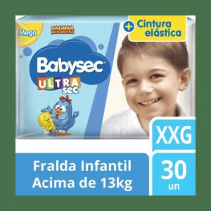 Fralda Babysec Galinha Pintadinha Mega - Tamanho XXG