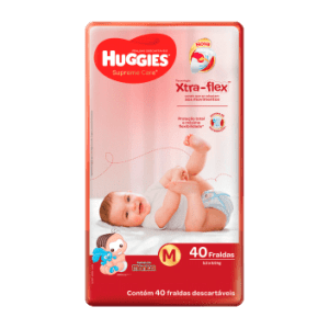 Fralda Huggies Supreme Care Mega