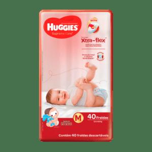 Fralda Huggies Supreme Care Mega