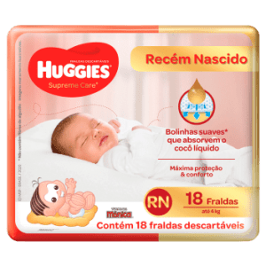 Fralda Huggies Supreme Care RN