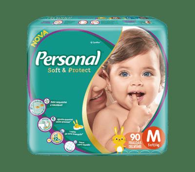 Fralda Personal Baby Hiper - Tamanho M