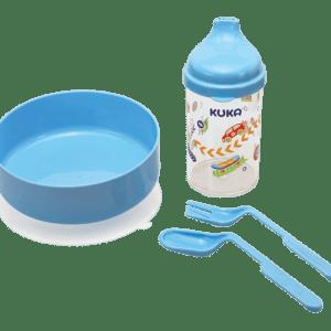 Kit Kuka Refeição Azul