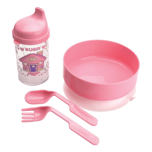 Kit Kuka Refeição Rosa