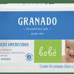 Lenço Umedecido Granado Bebe Peles Sensíveis-jmc-cha-de-fraldas