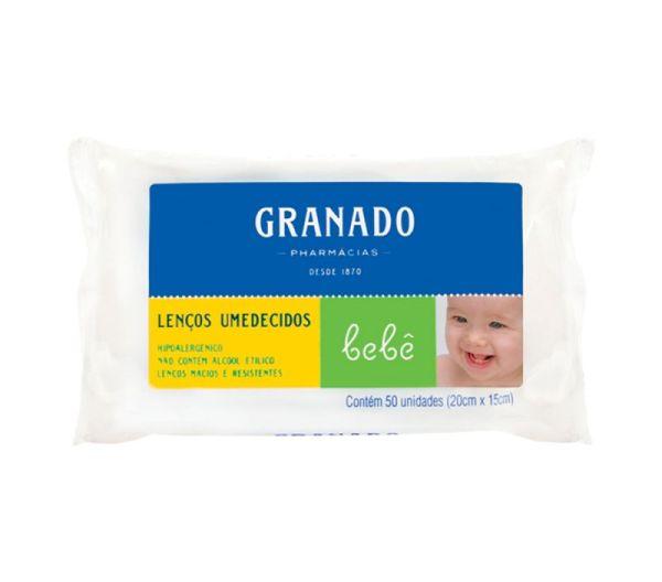 Lenço Umedecido Granado Bebê