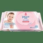 Lenço Umedecido Johnson's Baby Proteção da Pele c48 unidades-jmc-cha-de-fraldas