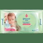 Lenço Umedecido Johnson's Baby Toque Fresquinho c96 unidades