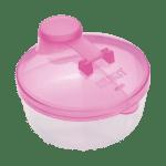 Recipiente Kuka Plástico Leite em Pó Rosa
