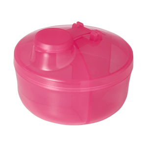 Recipiente Neopan Plástico Leite em Pó Rosa