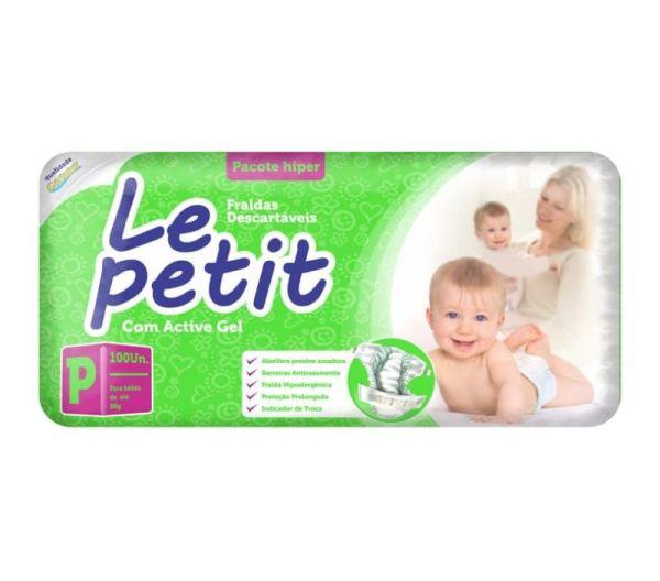 Fralda Le Petit Hiper - Tamanho P