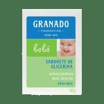 Sabonete Barra Granado Bebê Glicerina Erva Doce-jmc-cha-de-fraldas