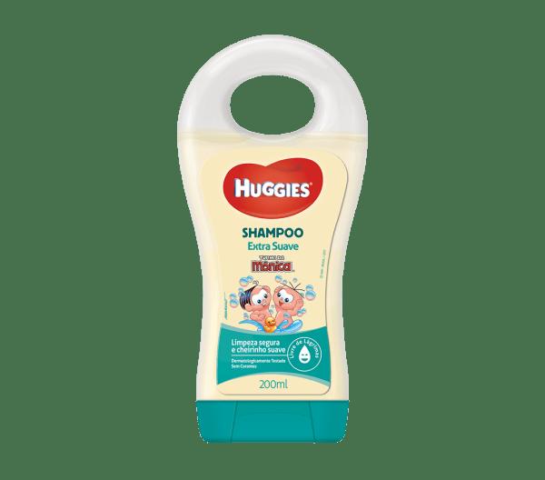Shampoo Turma da Mônica Huggies Extra Suave