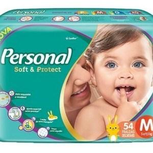 A nova fralda Personal Baby possui camada externa respirável, que deixa o bumbum mais ventilado e menos propenso a assaduras, com toque como algodão.