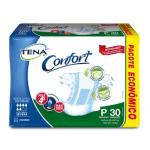 Fralda Tena Confort Mega – Tamanho P – Pacote 30 unidades