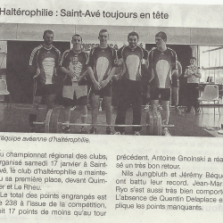 article force atletique