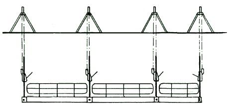 Andamios Colgados Moviles De Accionamiento Manual Transmission