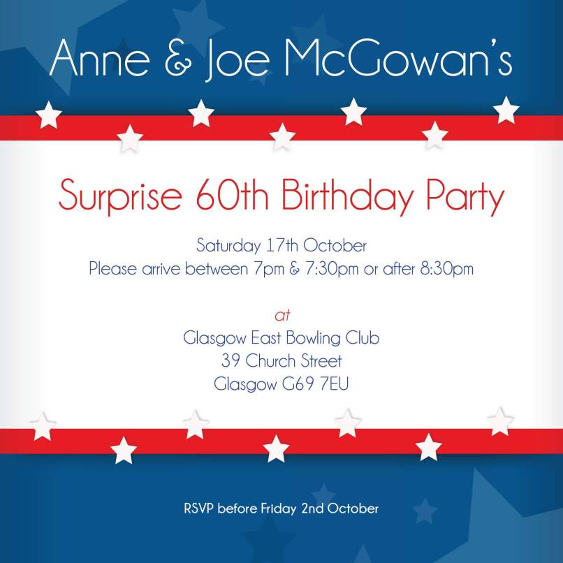 party invitations glasgow   Invitationjpg.com