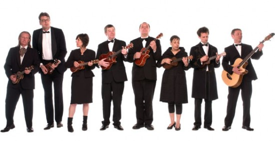 Ukulele Orchestra – « Shaft »
