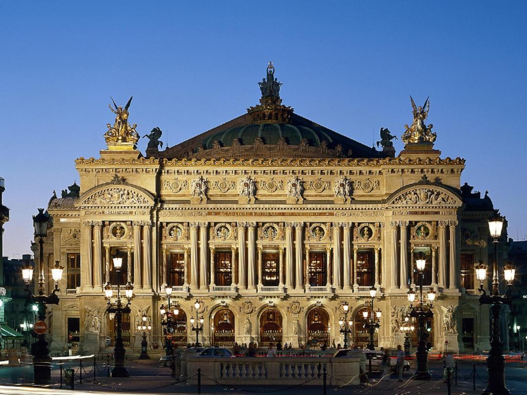 Le drone de l'Opéra