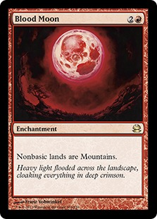 the ten most devastating red magic cards according to gatherer