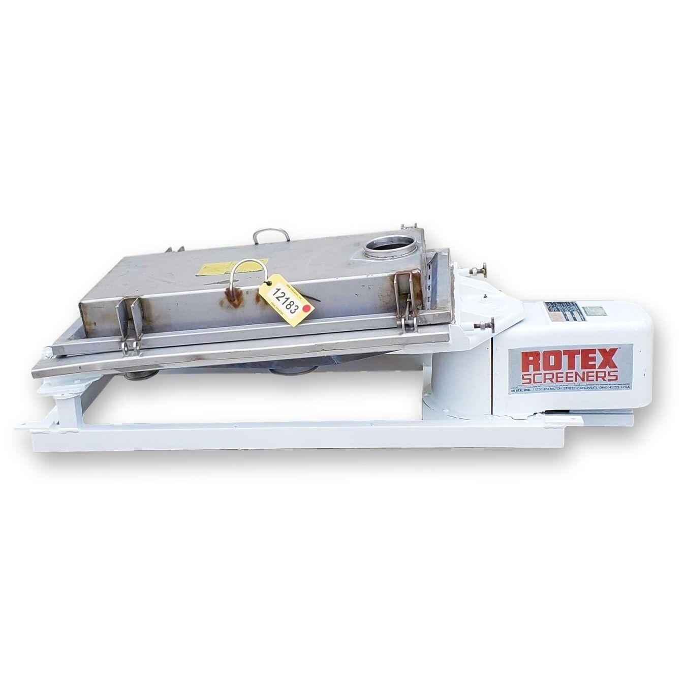 Used Rotex Screener
